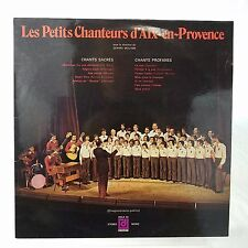Les Petits Chanteurs d'Aix-en-Provence Sacred Songs/Secular Songs Import Signed