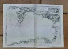 Carte Marine - HYDROGRAPHIQUE - Côte Ouest de la France - Baie de DOUARNENEZ