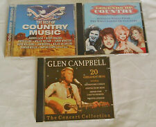 3 Country Music CDs