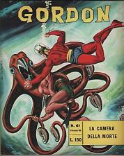 GORDON fratelli spada N.61 LA CAMERA DELLA MORTE flash f.lli dan barry 1966