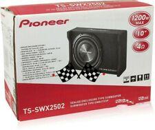 "Pioneer TS-SWX2502 1200 Watt 10"" Shallow-Mount Single 4 ohm Loaded Enclosure NEW"