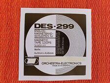 DES-299  Tape Loops für Dynacord und Echolette Echogeräte