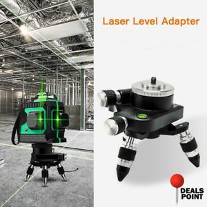 360 Beam Self-leveling Laser Level Cross Adapter 12 Lines 3D Green Lazer Base