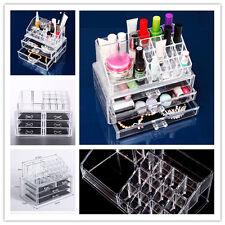 Pantalla organizador de cosméticos cajones Caja Maquillaje Acrílico Titular joyería de almacenamiento de información