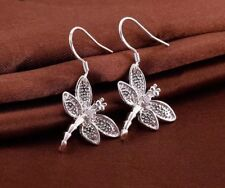 925 Sterling Silver Dragonfly Earrings Women's Jewellery Aussie Seller Ladies