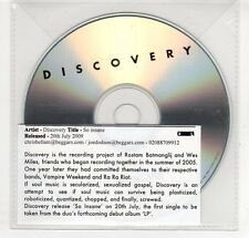(GN930) Discovery, So Insane - 2009 DJ CD