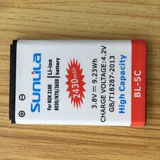 2430mAh High Capcity BL-5C Battery For Nokia 1100 6600 6230 0630 N70 3650 C2-06