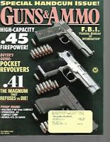 Guns & Ammo Handguns Magazine October 1993 Special Handgun Issue, .45 Firepower
