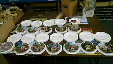 12 M.I. Hummel Little Companions Gold Plate Collection New Danbury Mint
