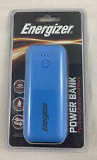 NEW! Energizer UE5007 5000mAh Power Bank for Smartphones Blue Color- Sealed