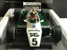 WILLIAMS FORD FW08 #5 DALY F1 1982 MINICHAMPS 117820005 1/18 FLY SAUDIA TAG