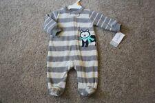 Carters Baby Boys Fleece Blanket Sleeper NWT  Penquin or Rookie    Newborn