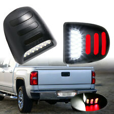 LED License Plate Lights Lamp For Chevy Silverado Avalanche GMC Sierra Cadillac