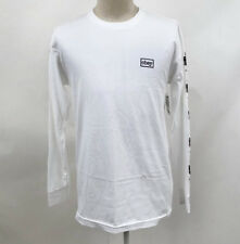 Obey Men's Long Sleeve T-Shirt Bound to Fail White Size M NWT Shepard Fairey