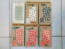 Set of Six New Apple Iphone 4 4GS 4G Cover Case