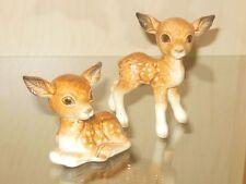 2 Stck. Goebel Bambi Reh Figur Figuren Porzellanfigur Porzellan
