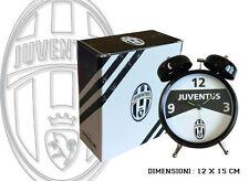 SVEGLIA DUE  JUVENTUS CAMPANE JUVENTUS Squadra Calcio Pallone Bianconeri RD46JV