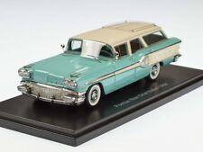 Neo Pontiac Starchief Safari 1958 Turquoise/White 1:43 46255