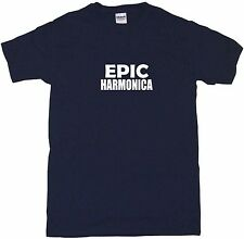 Epic Harmonica Mens Tee Shirt Pick Size Color Small-6XL