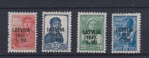 LATVIA MINT SELECTION 1941