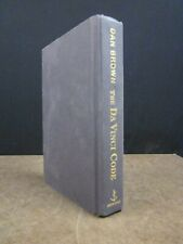 Da Vinci Code Dan Brown Book Club 1st Edition 2003