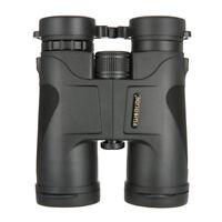 Visionking 10x42 Hunting Travel Birding Binoculars black Roof new X Gift
