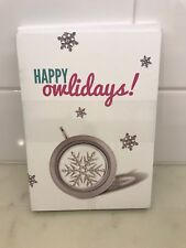 Origami Owl Happy Owlidays Thank You Cards & Envelopes Package of 11