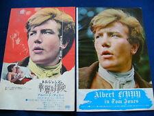 1960s Albert Finney Japan VINTAGE 22 Clippings TOM JONES