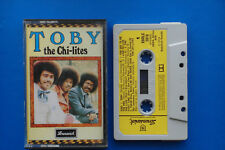1974 The Chi-lites Toby Brunswick yellow paper label music cassette tape