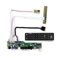 TV HDMI VGA RF LED LCD Controller kit for LG Display LP156WH4-TLR1 TLQ4 1366*768