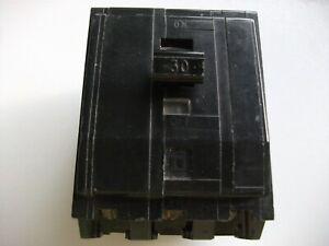 SQUARE D QOX/QOE 30 AMP TRIPLE POLE MCB