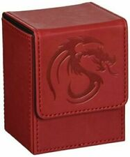 BCW Padded Leatherette Deck Case LX Red