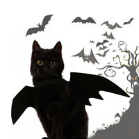 Pet Dog Cat Black Bat Wings Cosplay Wings Costume Party Halloween Decoration RK