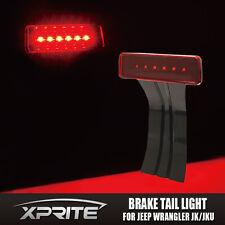 Xprite 3rd LED Brake Light Fits 07-17 JK Jeep Wrangler Black with Red Lens