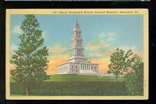 Alexandria, Virginia, Washington Masonic Memorial (alexandriaVA101)notposted