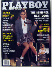Playboy Magazine March 1995 OJ Juror John Travolta Dick Vitale