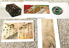 Japanese Traditional Art Print Painting Post Cards Japan Hagaki Genji monogatari
