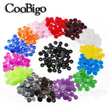 1000Pcs T3//T5//T8 Black Resin Fasteners Clip Snap Button For Cloth Diaper Craft