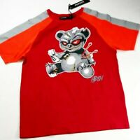 Hudson Outerwear mens Tshirt 100%AUTHENTIC size Large red voodoo bear