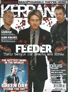 KERRANG! #1042 FEB 2005: FEEDER The Hives AMERICAN HEAD CHARGE Rammstein LACUNA
