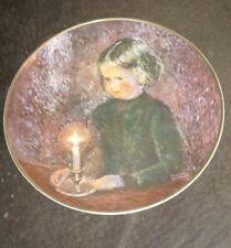 1978 Viletta Fine China Jennifer by Candlelight Plate (60 of 5000) W. Bruckner