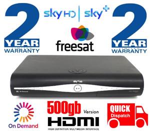 SKY+ HD BOX SLIMLINE DIGIBOX - DRX890 500gb - ** 24m WARRANTY + FREE DELIVERY **