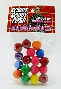 ROWDY RODDY PIPER   ALL OUT OF BUBBLE GUM  4oz PACKAGE