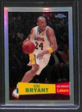 2007-08 Topps Chrome Refractor #24 Kobe Bryant No 813 of 999