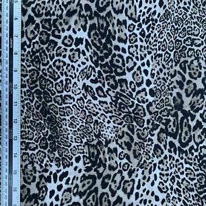 Rose & Hubble 100% Cotton Fabric - Lynx print  - CP0045
