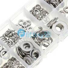 260Pcs Assortment Set Stainless Steel Washer/Spring Washer For M2.5 3 4 5 6 8 10