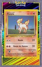 🌈Ponyta - Set de Base Edition 1 - 60/102 - Carte Pokemon Neuve Française