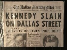 Dallas Morning News -  John F. Kennedy Assassination - 2013 Gannett Reproduction