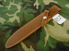 "RANDALL KNIFE KNIVES SHEATH FOR MODEL #6-9"" CARVING BROWN,CAUTION DON'T  #A1329"