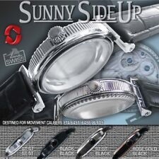 "WATCH CASE ""SUNNY SIDE UP""  MOVEMENT ETA 6497,6498, GRAVIATOR BL109, ST-ST 46 MM"
